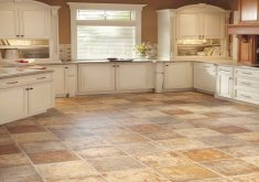 vinyl tile kitchen