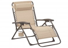 Exceptional Outdoor Reclining Lounge Chair   Mix And Match Zero Gravity Sling Outdoor Chaise Lounge Chair In Cafe