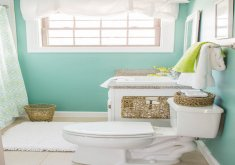 Nice Decorating Ideas For A Small Bathroom   Freshome.com